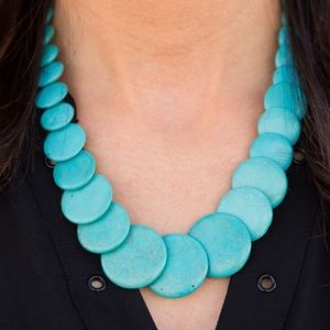 Jewelry - Sierra Mountains Blue | Necklace